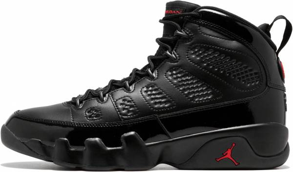 Air Jordan 9 Retro - Black/University Red