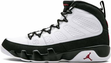 designer fashion 34a07 b732e Air Jordan 9 Retro White, Varsity Red-black Men