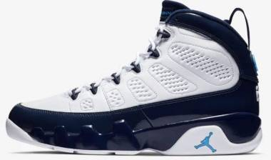 Air Jordan 9 Retro - White University Blue