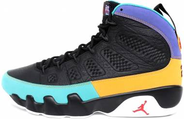 Air Jordan 9 Retro - Multicolore Black University Red Dark Concord 000