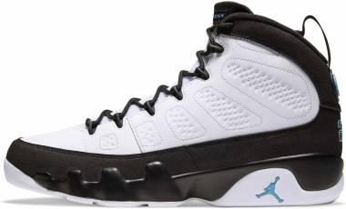 Air Jordan 9 Retro - White/Black-university Blue (CT8019140)