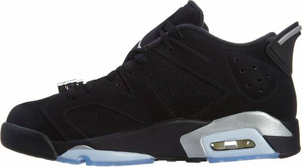 lowest price 3d48b 247b9 Air Jordan 6 Retro Low Black, Metallic Silver-white