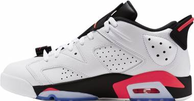 Air Jordan 6 Retro Low - White/Infrared 23-Black