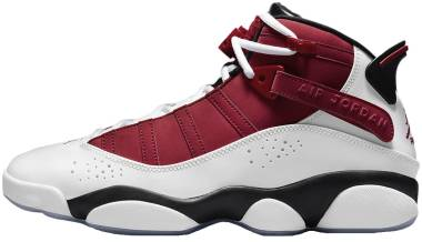 Jordan 6 Rings - White/Black/Carmine (322992106)