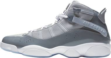 Jordan 6 Rings - Cool Grey White Wolf Grey