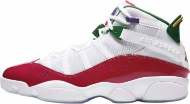 Jordan 6 Rings - White/Rush Blue-gym Red-pine Green (CW7003100)