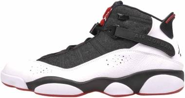 Jordan 6 Rings - Black/White-red (322992012)