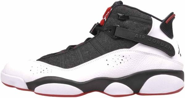 brand new 8692d 0a846 Jordan 6 Rings Black White-red