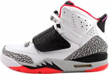 Jordan Son of Mars - White/Fuchsia Flash-Black-Wolf Grey-Hot Lava (512245105)