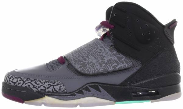 dd4bfde7ebbd Jordan Son of Mars Dark Grey University Gold-bordeaux-cool Mint