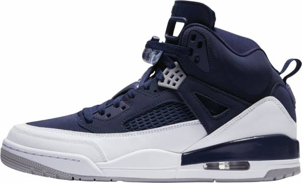 new concept 61e8a 3a661 Jordan Spizike midnight navy, metallic silver. Any color