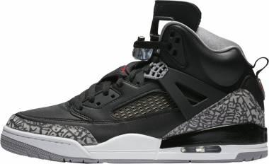 Jordan Spizike Black/Varsity Red-Cement Grey Men