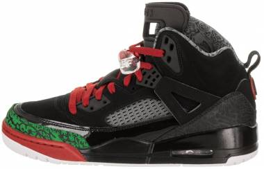 Jordan Spizike black, varsity red Men