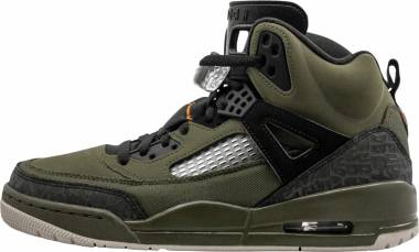 Jordan Spizike - Multicolour (Olive Canvas/Cone-black-light Bone 300)