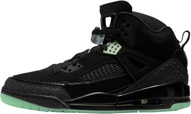 Jordan Spizike - Black Green Glow Anthracite (315371032)