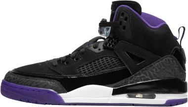 Jordan Spizike - Mehrfarbig Black Court Purple Anthracite White 051