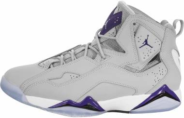 Jordan True Flight - Wolf Grey / Court Purple-white (342964051)