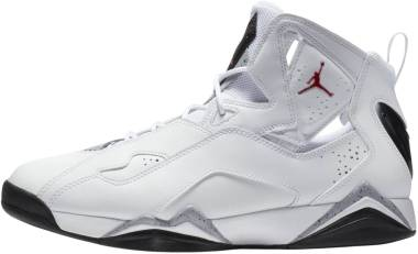 Jordan True Flight - White Gym Red Black Wolf Grey