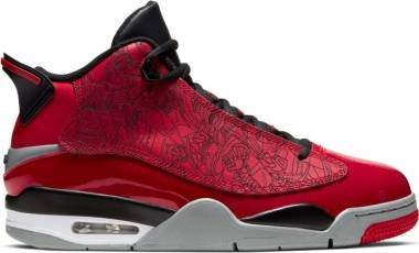 Air Jordan Dub Zero - Gym Red Black Particle Grey (311046600)