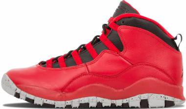 Air Jordan 10 Retro - GYM RED/BLACK-WOLF GREY