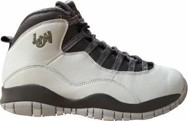 Air Jordan 10 Retro - Argento Pr Pltnm Mtllc Gld Drk Gry Cl