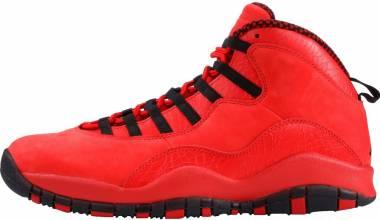 Air Jordan 10 Retro University Red/Black Men