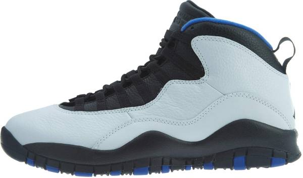 Air Jordan 10 Retro - Multicoloured White Black Royal Blue Metallic Silver 108 (310805108)