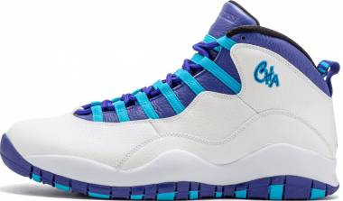 Air Jordan 10 Retro - White/Concord/Blue Lagoon/Black