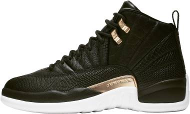 Air Jordan 12 Retro - Black Metallic Gold White
