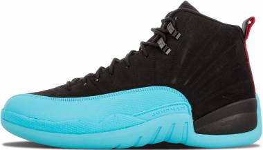 Air Jordan 12 Retro Black/Gym Red-gamma Blue Men