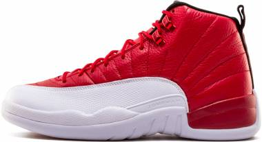 Air Jordan 12 Retro - Rojo Gym Red White Black