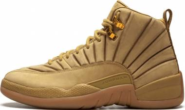 Air Jordan 12 Retro Wheat, Wheat-gum Light Brown Men