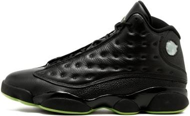huge selection of 8a4e9 7df30 Air Jordan 13 Retro Black, Altitude Green Men