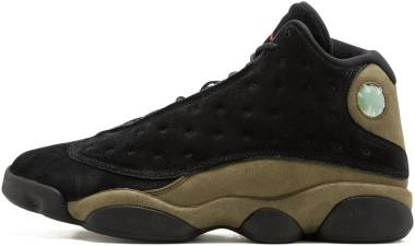 Air Jordan 13 Retro - Black Gym Red Light Olive