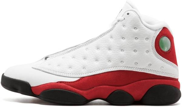 Air Jordan 13 Retro White, Black-team Red