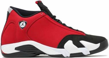 Air Jordan 14 Retro - Black/White-off White-gym Red (487471006)