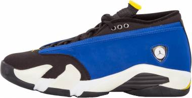 Air Jordan 14 Retro Low - Blue (807511405)