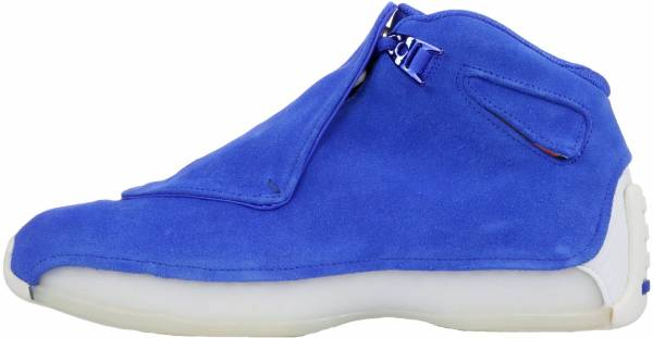 Air Jordan 18 Retro Racer Blue, Racer Blue-sail