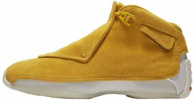 Air Jordan 18 Retro Yellow Ochre, Yellow Ochre-sail Men