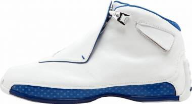 Air Jordan 18 Retro - White, Metallic Silver (AA2494106)