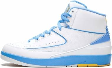 Air Jordan 2 Retro White, University Blue Men