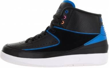 Air Jordan 2 Retro - Black/Photo Blue/White/Fire Pink