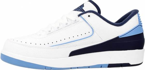 cheap for discount 87ecd 1fc64 Air Jordan 2 Retro Low Blanco (White   Unvrsty Bl-mid Nvy-infrr