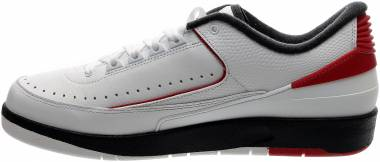 Air Jordan 2 Retro Low - White/Varsity Red-Black (832819101)