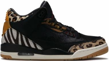 Air Jordan 3 Retro - Black, Dark Mocha, Rope, Multi-color (CK4344002)