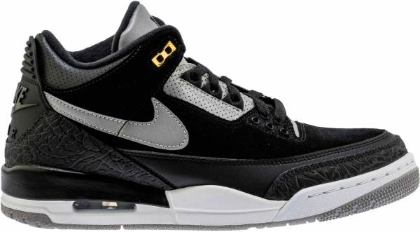 Parity Retro 3 Jordans Black Up To 60 Off
