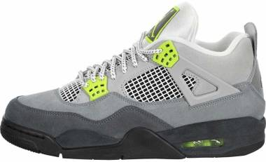Air Jordan 4 Retro - Cool Grey/Volt-wolf Grey (CT5342007)