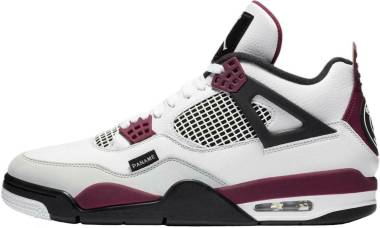 Air Jordan 4 Retro - White/Neutral Grey-black-borde (CZ5624100)