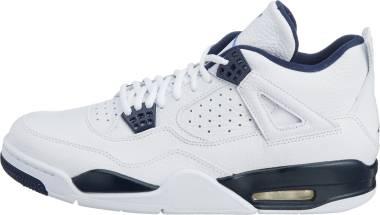 Air Jordan 4 Retro - White/Legend Blue-midnight Navy