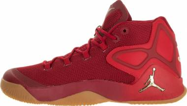 Jordan Melo M12 - RED/TAN/GOLD
